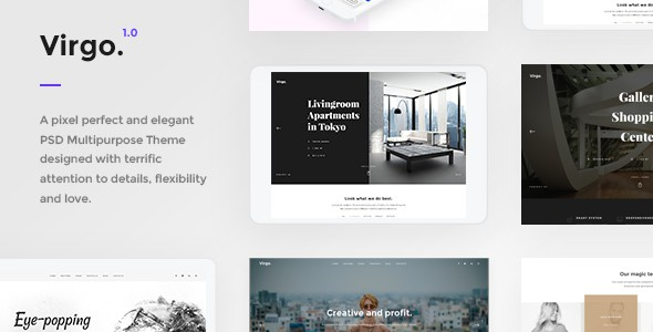 Virgo - PSD Multipurpose Template