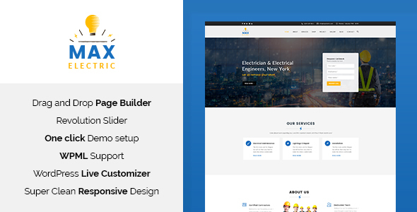 Agile - Building & Construction PSD Template - 13