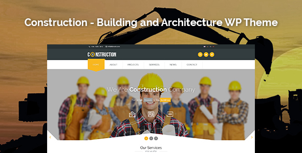 Agile - Building & Construction PSD Template - 52