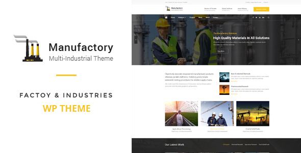 Agile - Building & Construction PSD Template - 58