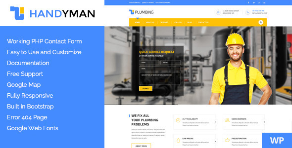 Agile - Building & Construction PSD Template - 70