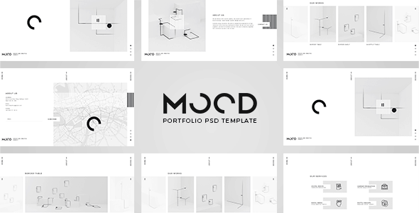 MOOD - Multipurpose PSD Template