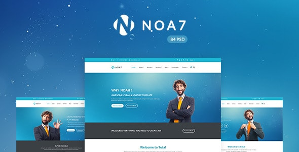 Noa7 - Multi Purpose PSD Template