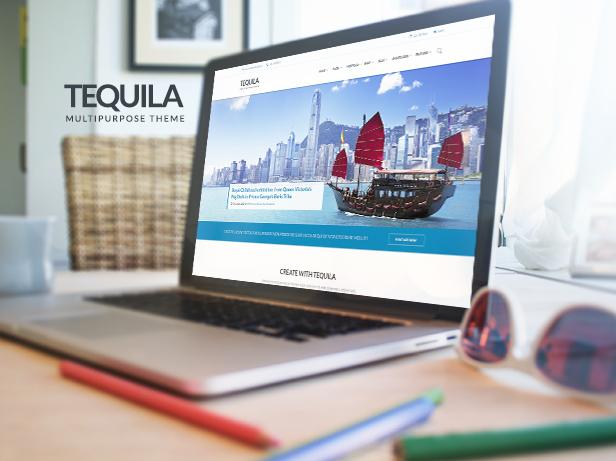 TEQUILA – Multi-Purpose PSD Template - 2