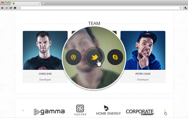 STM One Page Creative Theme - 8