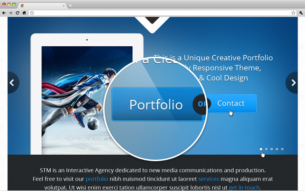 STM One Page Creative Theme - 7