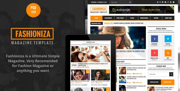 Seneza - Ultimate Clean Multipurpose PSD Templates - 1