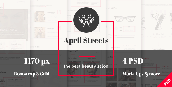 April Streets - Hair, Spa, Manicure - Beauty Salon