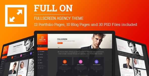 Full On - Fullscreen Creative Agency Theme