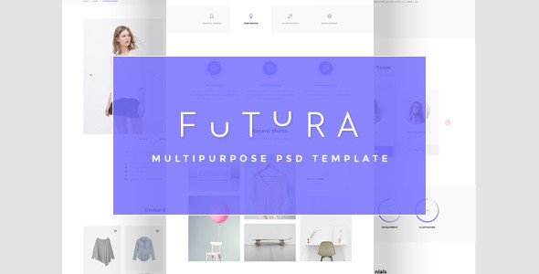 Futura - Multipurpose PSD Template | Corporate