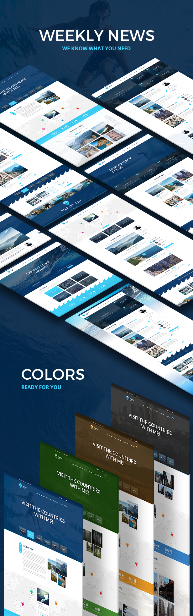Actuality  PSD Template