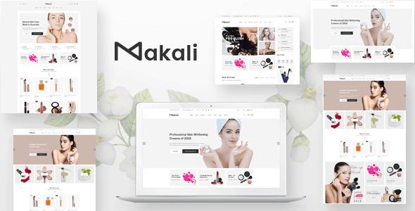 Makali - PSD Template