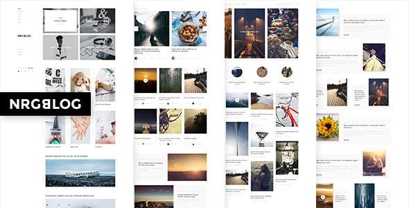 NRGblog - Mega Creative Blog and Portfolio Theme