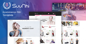 Suunhi - eCommerce PSD Template