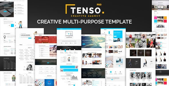 Tenso - Creative Multi-Purpose PSD Template