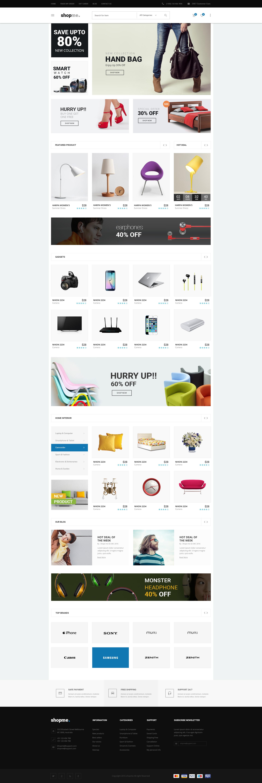Shopme eCommerce PSD Template