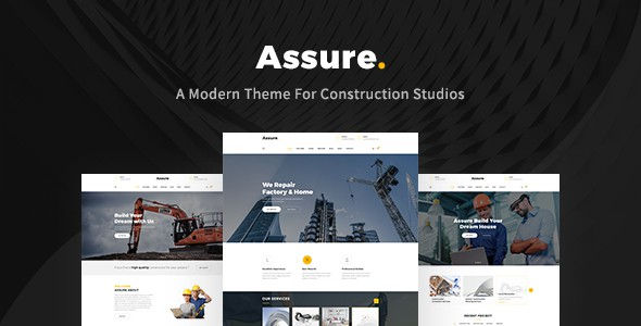 Assure - Construction Building Templates