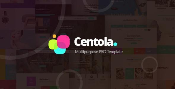 Centola - Multi-Concept PSD Template