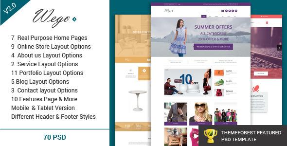 Oval - Creative OnePage PSD Template - 9