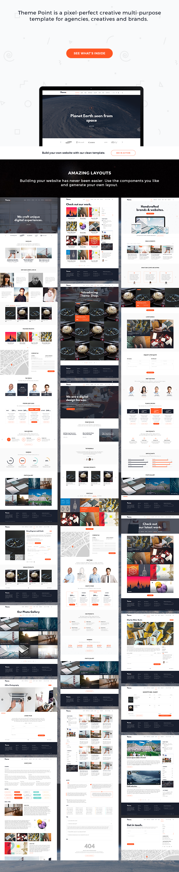 Theme Point - Business Agency PSD Template - 2