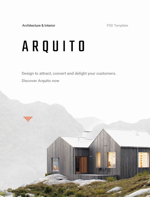 Arquito - Architecture & Interior PSD Template - 10