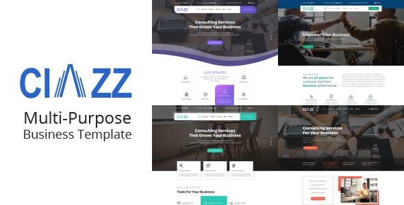 Ciazz | Multi-Purpose Business PSD Template