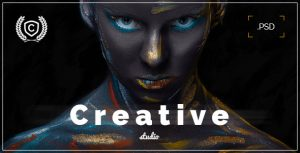 Creative Studio - Landing Page PSD