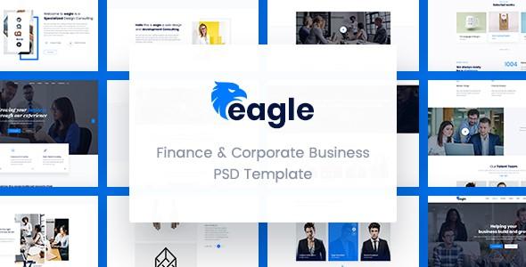 Eagle - Finance & Corporate Business PSD Template