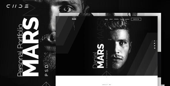 Mars - Personal Portfolio