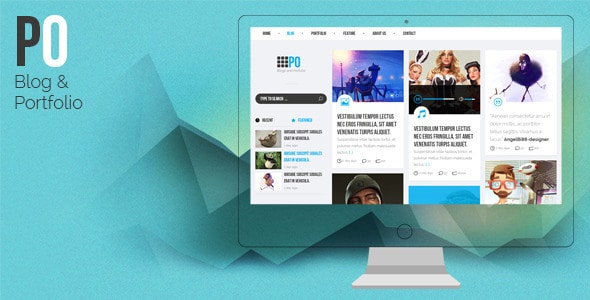 PO - Creative PSD Template