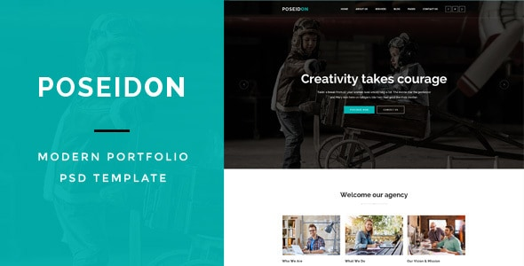 Poseidon : MultiPurpose PSD Template