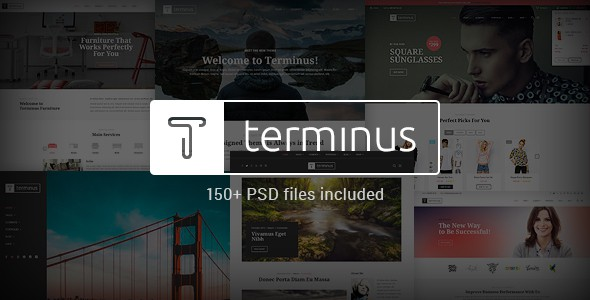 Terminus - Multi-Purpose PSD Template