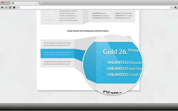 A Stunning Interactive Agency PSD - 2