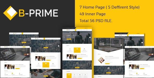 BPRIME- Multipurpose Business Template