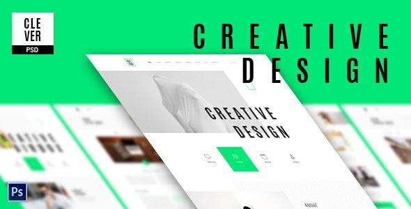 Clever - Creative & Design Portfolio Template