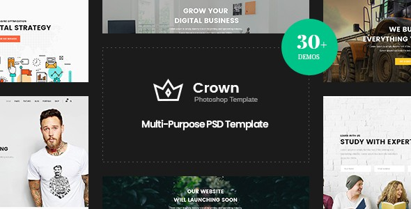 Crown | Multi-Purpose PSD Template