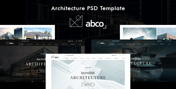 abco - Creative Architecture PSD Template