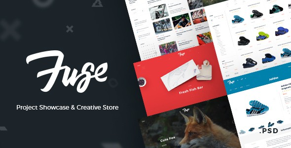 Fuse – Project Showcase & Creative Store