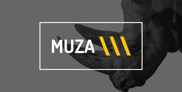 Muza — Creative Portfolio or Agency PSD Template