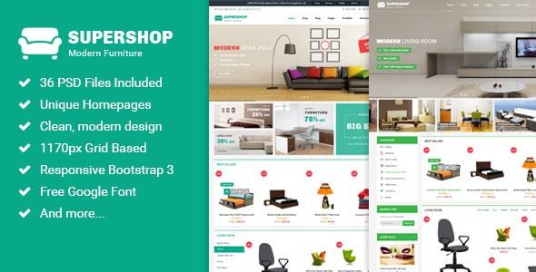 Supershop - Multi-Purpose eCommerce PSD Theme