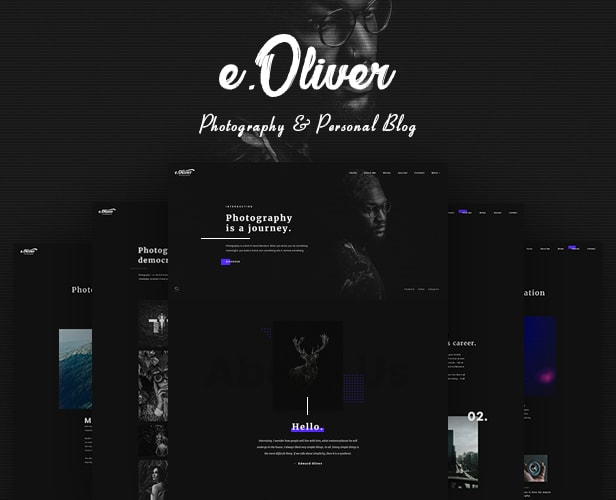 Oliver – Photography & Personal Blog - 1