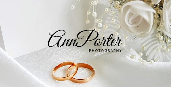 AnnPorter Photography PSD Template
