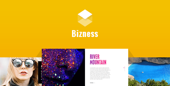 Bizness - Corporate Business PSD Template