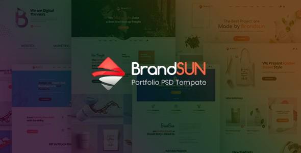 Brandsun - Multi-Purpose PSD Template