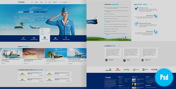 Exactly Psd Template