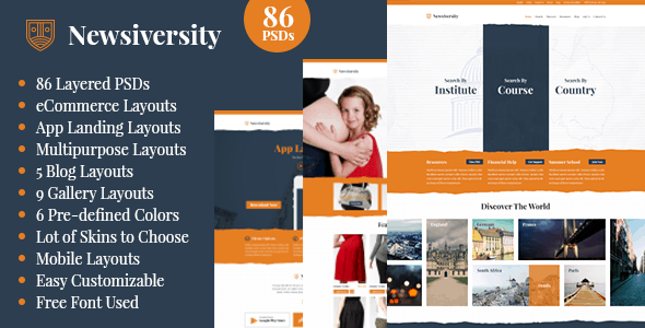 Newsiversity - PSD