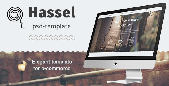 Hassel PSD Template