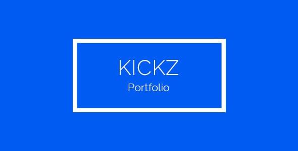 Kickz Portfolio PSD Template