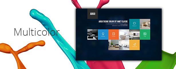 Argo - One Page Portfolio PSD Template - 8