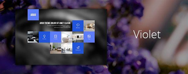 Argo - One Page Portfolio PSD Template - 9